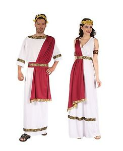 Image is loading ANCIENT-GREEK-ROMAN-KING-GOD-AND-GODDESS-COSTUMES-  sc 1 st  eBay & ANCIENT #GREEK / ROMAN KING GOD AND GODDESS COSTUMES FANCY DRESS | eBay
