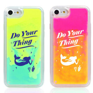 Trycozy Mermaid Neon Sand Nightglow Case Iphone 6 6s Iphone 6s Plus Liquid Type Ebay