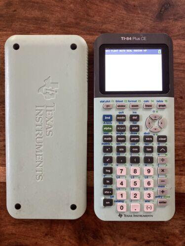 Texas Instruments TI-84 Plus CE Graphing Calculator - Light Blue | eBay
