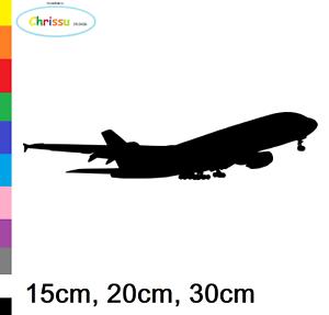 Avion Autocollant Voiture Mural Aviateur linienmaschiene Airbus Boeing 153//5