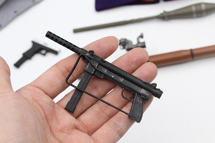 1 6 THE BEST TOYS Joker Clown Accessory Bag W Gun Knife Grenade Poker Model Toys