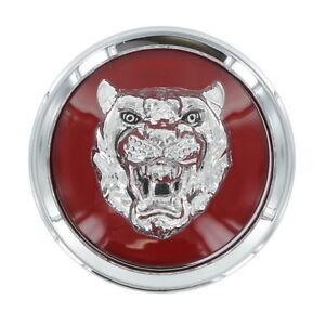 Jaguar Center Cap Wheel Cover Red Badge Growler 1 Piece