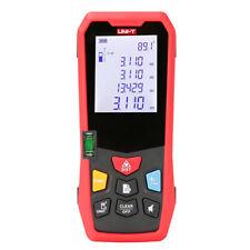 Laser Distance Meter Range Finder Area Volume Test 80m 262ft Spirit Level Lm80
