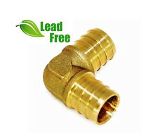 Lot Of 25 12 Pex Elbows Brass Crimp Fittings Pxln0012 Nl