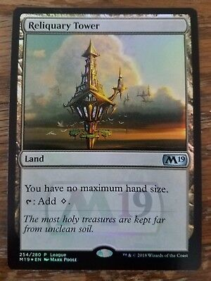 Unopened Pack Of 4 Foil Cards Magic The Gathering Reliquary Tower