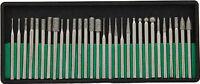 30pc Diamond Burr Set 1/8 Shank 240 Grits Dremel Type Rotary Tool 8230dd24