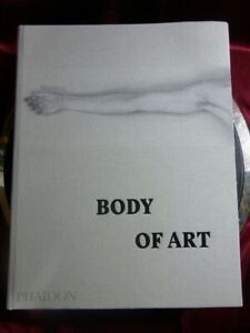 BODY-OF-ART-Hardback-Book-PHAIDON-Representation-of-human-form-prehistory-now