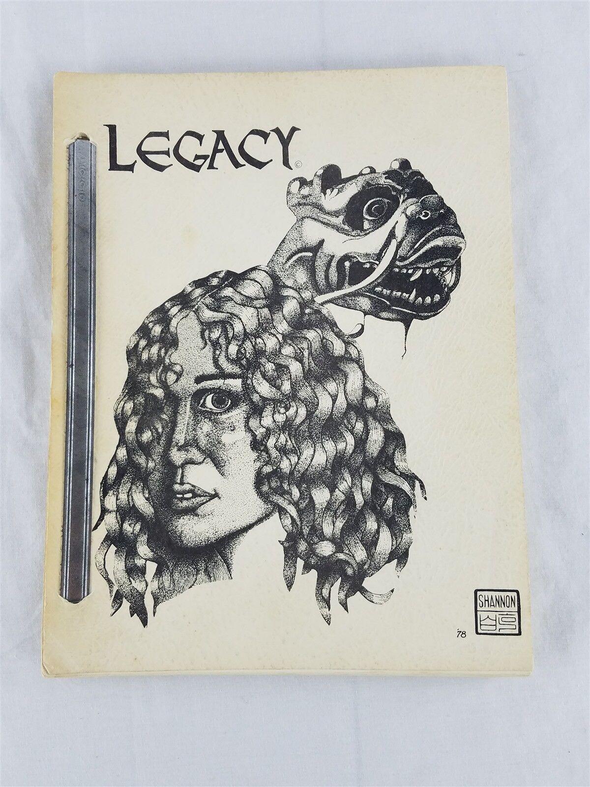 Legado de junio de 1978 pequeñas prensa TSR AD&D D&D Dungeons & Dragons
