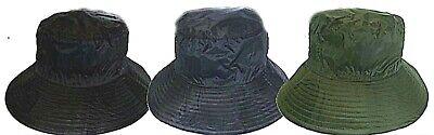 MENS WOMENS TARTAN LINED SHOWERPROOF RAIN HATS COUNTRY FISHING SHOOTING HAT CAP