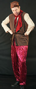 Details about Snow White-Sneezy-Bashful-Happy-Sleepy-Grumpy DWARF/GNOME  Fancy Dress Costume