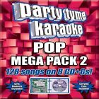 Party Tyme Karaoke - Pop Mega Pack 2 [8 CD] [Box] by Karaoke (CD, Aug-2012, 8 Discs, Sybersound Records)