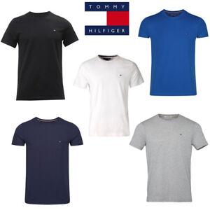 Neu OVP Tommy Hilfiger Denim T Shirt Herren Rundschnitt