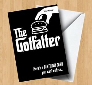 Image Is Loading Personalised The Gotfatter Godfather Junk Food Fat Joke