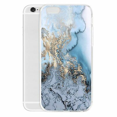 Luxury Stone Marble Pattern Case Printed Slim Cover Bumper for Cell Mobile Phone