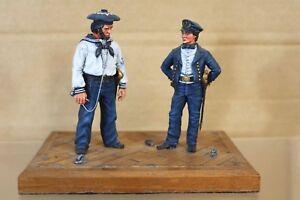 Stadden Séries 77 90mm Américaine Sécession Guerre Union Marine Matelots Musée