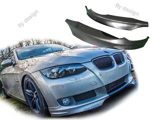 Para-bmw-e92-Coupe-Front-aleron-frontal-astilla-difusor-flap-flip-Front-labio-LIP