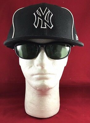 New Era 59fifty Mlb Ny Yankees Fitted Black With 4 White