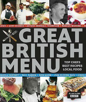 """AS NEW"" Great British Menu - traditional recipes, Various, Book"