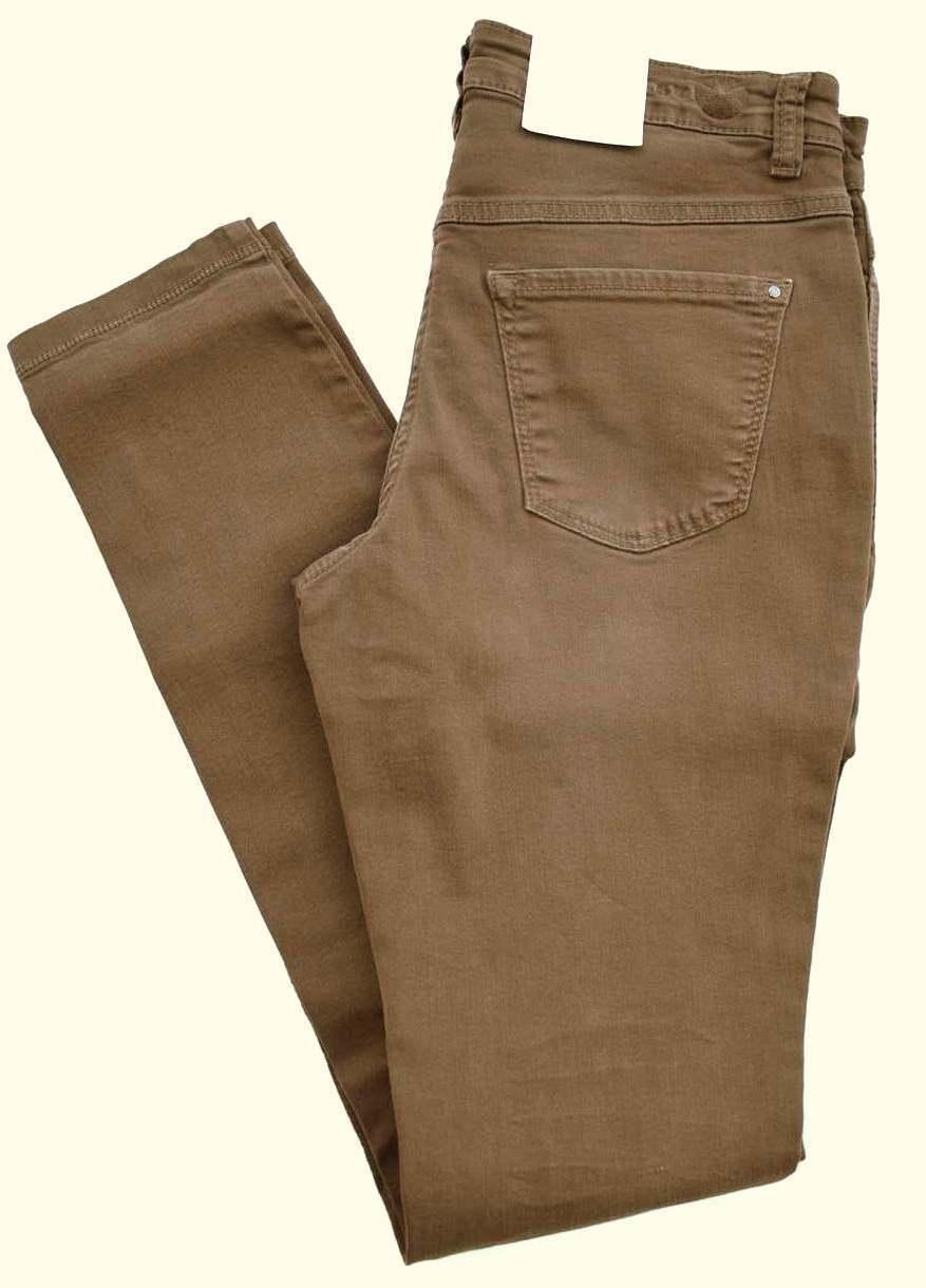 MAC Jeans DREAM Skinny Authentic Stretch Röhre braun Gr.36 L 36 NEU