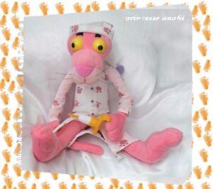 Responsable Peluche La Panthère Rose Pink Panther Bonnet Chemise De Nuit Bougie Play-by-play