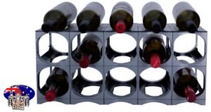 CellarStak-Silver-Plastic-Wine-Rack-12-15-Bottles