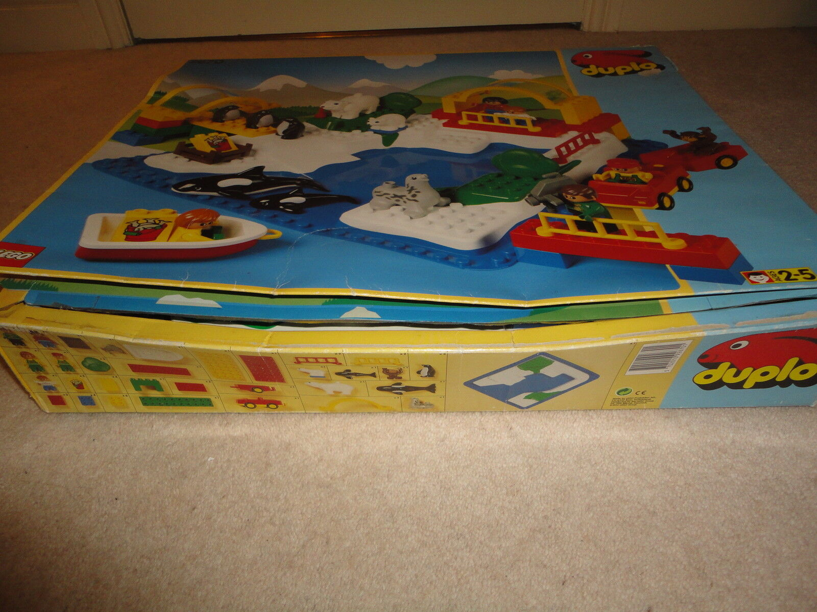 Duplo 2670 Waterpark Zoo BOXED COMPLETE Awsome ultra-rare set