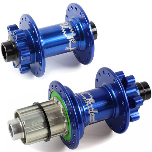 Blue Brand New Hope Pro 4 Front Rear Hubs Combo Customize Specs