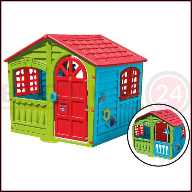 Casetta Per Giardino Plastica.Sport One Casetta Per Bimbi House Of Fun 140x111x115h Idea Regalo