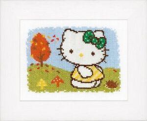 Hello-Kitty-Autumn-Vervaco-Cross-Stitch-Kit-New
