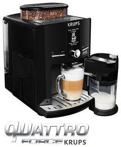 Krups EA82F8 Latt´Espress Quattro Force   Kaffeevollautomat Kaffeemaschine  1...