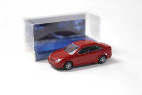 1:87 Rietze Ford Focus Sedan dark red NEW bei PREMIUM-MODELCARS