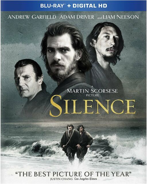 SILENCE (Andrew Garfield) - BLU-RAY - Region free - Sellado