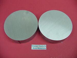 "2 Pieces 7"" ALUMINUM 6061 ROUND ROD 1.6"" LONG T6511 7.00"" Diameter Solid Bar"