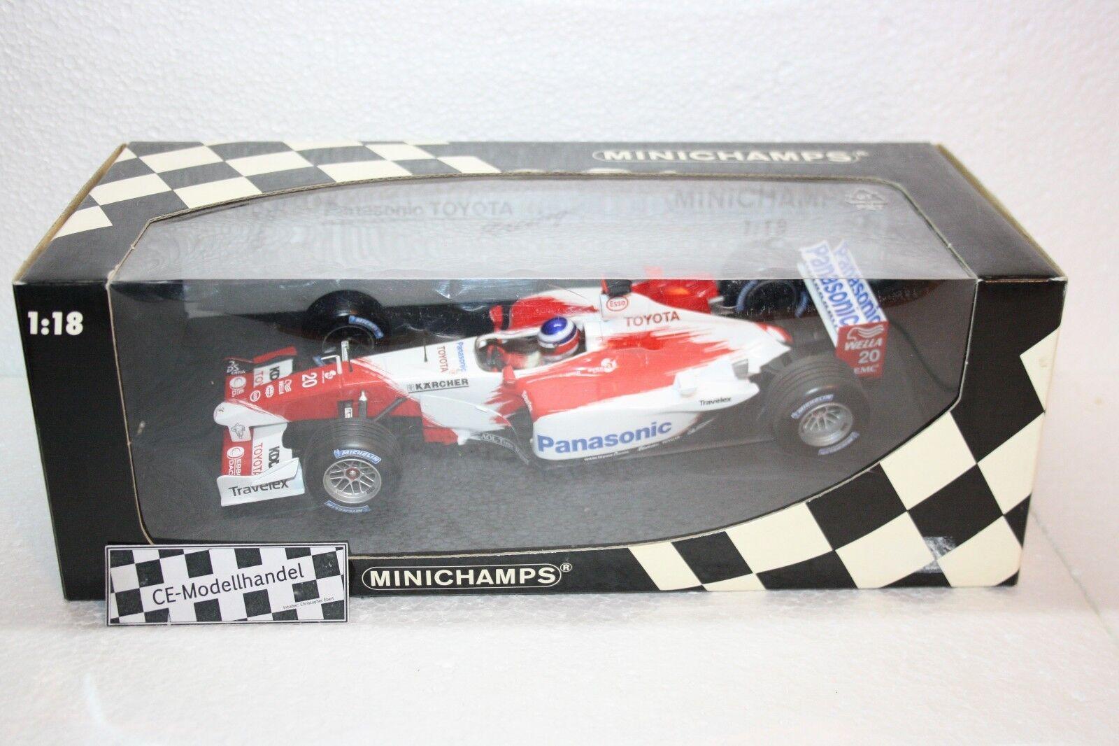 Panasonic Toyota Racing tf103 # 20 O. Panis Minichamps Minichamps Minichamps   1:18 | Structurels élégantes  c9e60a