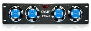 Sound-Around-Pyle-Pro-19-034-Rack-Mount-Cooling-Fan-System-W-Temperature-Display