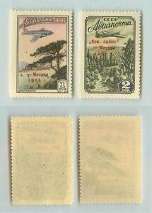 La-Russie-URSS-1955-SC-C95-C96-neuf-sans-charniere-f4283