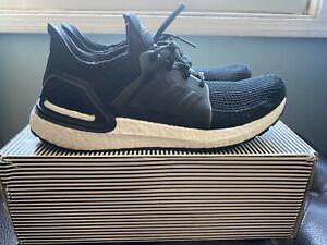 jurado Fundir Cívico  Adidas Ultra Boost 19 hombre 10.5 núcleos Black White | eBay