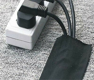 Image Is Loading Floor Cable Cover Hook Amp Loop Carpet Wrap