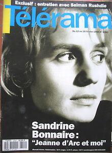 2300-SANDRINE-BONNAIRE-JEANNE-D-039-ARC-SALMAN-RUSHDIE-CASADESUS-BJORK-TELERAMA-1994
