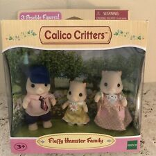 Calico Critters Fluffy Hamster Family CC1490