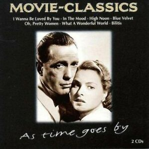 Movie-Classics-As-time-goes-by-Dooley-Wilson-Roy-Orbison-America-J-CD-DOPPIO