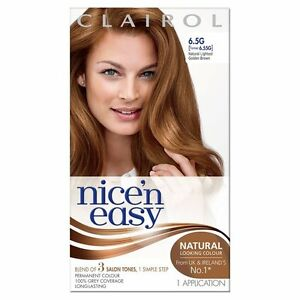 Clairol Nice N Easy Natural Lightest Golden Brown 6 5g 6 55g Former