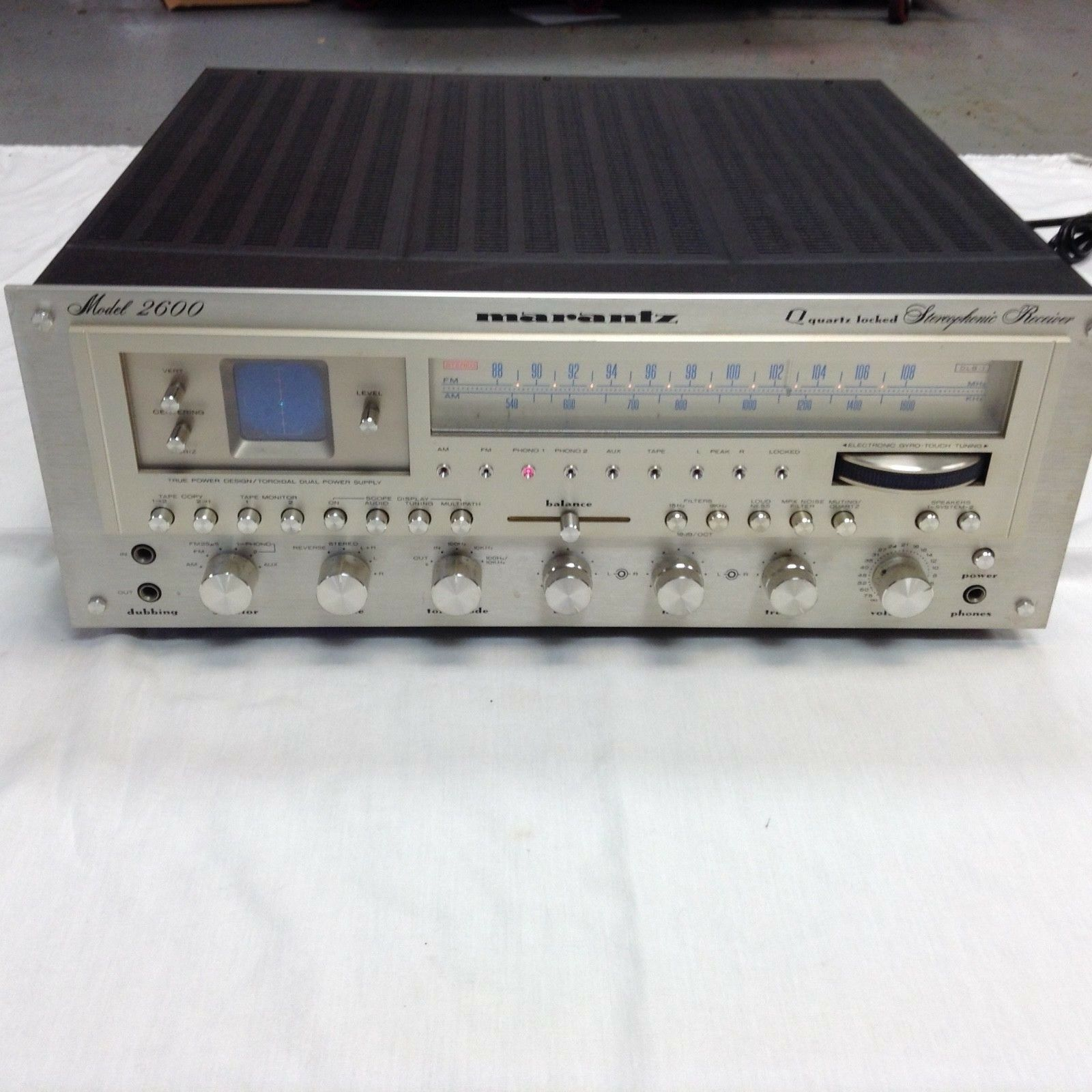 Marantz 2600 on eBay.
