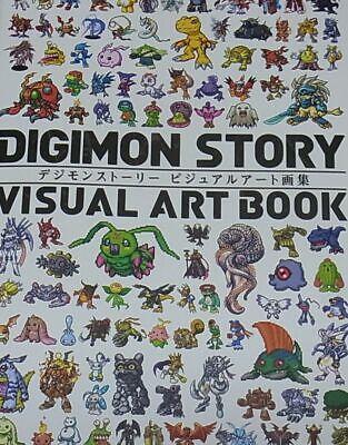DIGIMON STORY VISUAL ART BOOK