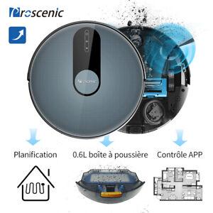 Proscenic-820P-Alexa-Aspirateur-robot-poil-animaux-balayage-Tapis-nettoyeur-Navi