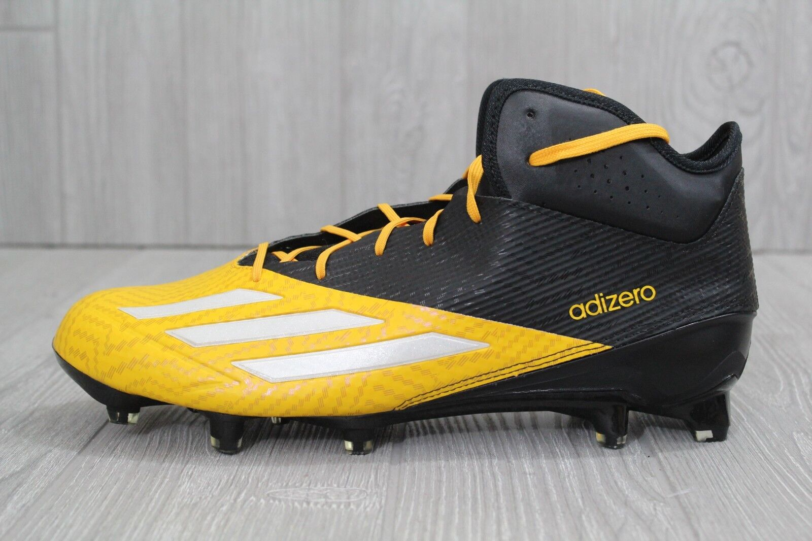 29 Adidas Adizero 5 Star 5.0 Mens Football Lacrosse Cleats Q16077 Yellow US 11.5