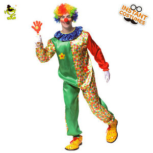 Flower-Clown-Costume-Adult-Carnival-Party-Colorful-Buffon-Cosplay-Fancy-Dress