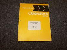 International Dresser 640 640L 640HD Excavator Owner Operator Maintenance Manual