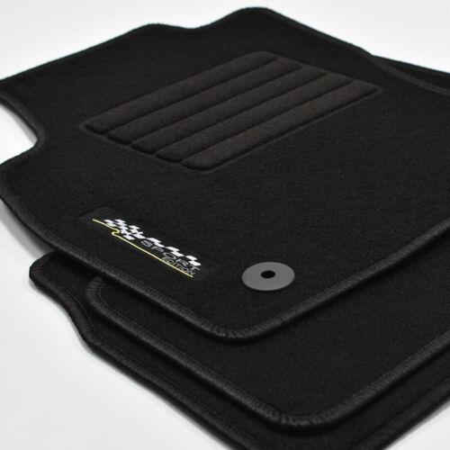 Opel Astra H a partir del año 04//2004-12//2009 deportes gamuza logotipo tapices alfombras coche