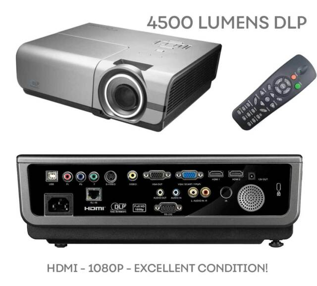 Optoma TH1060P 1920 X 1080 DLP Projector - 4500 Lumens